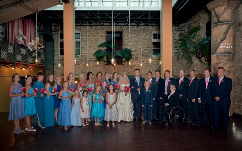 ottawa wedding photographer group formal portrait